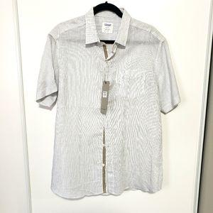Men's linen/cotton shirt L